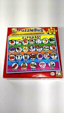 PUZZLE BUG 24 piece CHILDREN'S BOARD PUZZLE FUN  WITH LETTERS