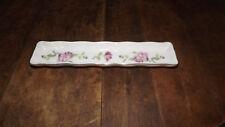 Lefton China Floral Long Trinket Dish No 2287 JAPAN