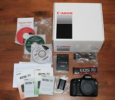 Canon EOS 7D 18.0MP Digital SLR Camera - Still / HD Video - Black (Body Only)