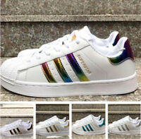 2018 NEW HOT Women Men's Striped Lace Up Sport Running Sneakers Trainers Shoes
