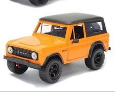 Jada Just Trucks 1/24 1973 Ford Bronco Orange/Black MiB