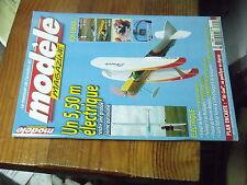 8µ? Revue Modele magazine n°652 plan encarté Air Cool Parkflyer depron / Airbull