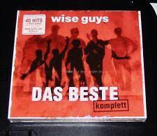 WISE GUYS DAS BESTE KOMPLETT DOPPEL CD SCHNELLER VERSAND NEU & OVP