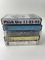 Cassette Tape: Phish '92 Tour - 5 Tapes - Good Variety
