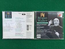 1 CD Musica , BRUNO WALTER - BRUCKNER Te deum MOZART Requiem NEW YORK Philharmon