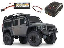 Traxxas TRX-4 Land Rover Defender Crawler grau RTR  + 5400mAh LiPo+Lader