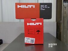 "Hilti Gx-3 Pins & fuel cell 750 3/4"" pins & 1 Gc-41 fuel cell new free ship gx3"