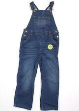 Genuine Kids Oshkosh Girls' Boys' Soft Stretch Knit Denim Overall Blue 4T Jumper