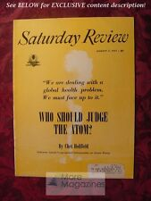Saturday Review August 3 1957 CHET HOLIFIELD HENRY MILLER Charles A. Fenton