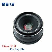 Meike 25mm F1.8 APS-C Manual Focus Prime Lens For Fujifilm X-Mount XT2 T20 T30