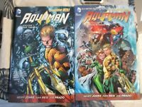 DC Comics Aquaman New 52 TPB lot Complete Series 10 books