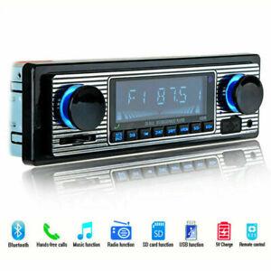 4-Channel Digital Car Bluetooth Audio USB/SD/FM/WMA/MP3/WAV Retro Radio Stereo