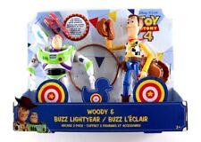 Disney Pixar Toy Story 4 Woody & Buzz Lightyear Arcade Action Figure 2 Pack
