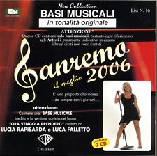 """BASI MUSICALI """"SANREMO 2006"""" VOL.16 (2CD)"""