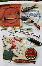 Job Lot of vintage fishing Lures and tackle