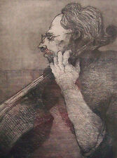 Original Cello Artwork-Music Instruments-Limited Edition-Signed-Original Print
