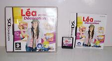 JEU NINTENDO DS DS LITE DSI XL - LEA PASSION DECORATION COMPLET