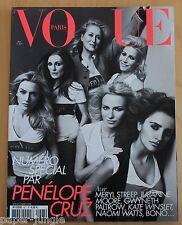 Vogue Paris ~ #907 May 2010 ~ Penelope Cruz Naomi WattsVanessa Paradis