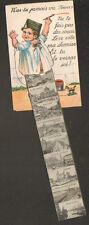ANVERS (BELGIQUE) FILLETTE Peintre & CHEVAL à ROULETTES carte à systeme 10 vues