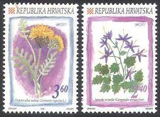 Croatia 1996 Corn-flower/Bluebell/Flowers/Plants/Nature 2v set (n40779)
