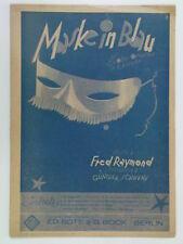 vocal album MASKE IN BLAU berlin 1937 fred raymond