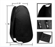 190cm Portable Pop Up Outdoor Toilet Shower Beach Camp Change Tent Dress Room AU