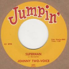 Johnny Two Voice / George Rene  Superman Jumpin Soul Northern Motown