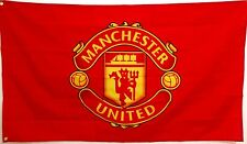 Manchester United Flag Banner 3 x 5 feet Reds England Premier Football Soccer