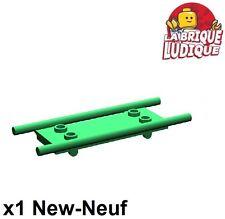 Lego - 1x Minifig utensil stretcher brancard hopital vert/green 4714 NEUF