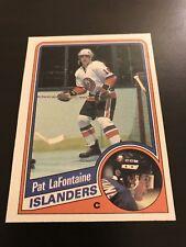 NHL Islanders Star Pat Lafontaine rookie card RC 1984 Topps mint near mint