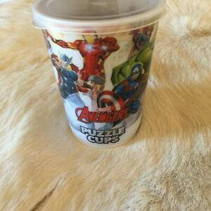 MARVEL Avengers Jigsaw Puzzle Drinking Cup 48 Pieces Collectable SUPERHEROES