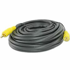 50 FT Foot Premium Coax Video Audio Subwoofer Home Theater RCA TV Cable Cord