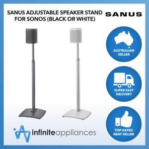 Sanus Adjustable Height Speaker Stand For Sonos One, SL, Play:1 & Play:3 WSSA1