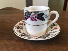 Pretty Vintage Grindley Duo. Demitase Coffee Cup & Saucer