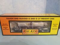 MTH Rail King O/O-27 Scale 2007 MTHRRC 19th Century Wooden Tank Car #30-73235