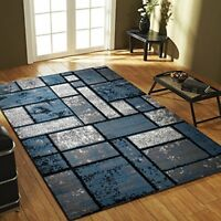 Area Rugs Geometric design Carpet Made in Turkey - Color and Size Options