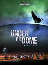 Under the Dome: Season 3, Mike Vogel DVD 2016  Sci-Fi Based on Stephen King Book