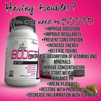 Boost Detox colon cleanse Accelerate weight loss take with Skinny Bee Pollen