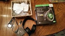 (Used) PDP Afterglow AG 9 Premium Black Headband Headset for Microsoft Xbox