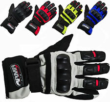 ARMR MOTO WP525 TEXTILE  WATERPROOF ALL SEASON MOTORBIKE MOTORCYCLE GLOVES