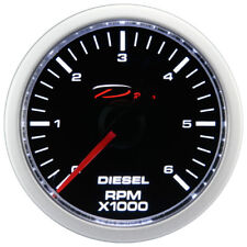 52mm Diesel Tachometer Gauge 0-6000 RPM D Racing On dash Electrical 12V Motor