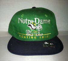 Vtg Notre Dame Fighting Irish Snapback hat cap Ncaa College Football 90s rudy