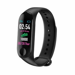 Fitness Watch M3 Band Smart Blood Pressure Bracelet Wristband Tracker Heart Rate