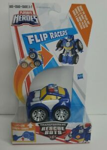 Playskool Heroes Transformers Rescue Bots Flip Racers Chase The Police -Bot