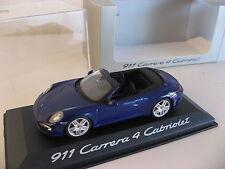 911 Convertible Carrera 4 Porsche 991 Cabriolet Dealer Item Model by Minichamps