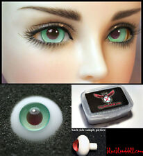 1/3 1/4 1/6 bjd 16mm green burgundy high quality glass doll eyes dollfie #TS-17
