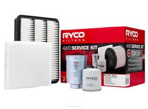 Ryco 4x4 Filter Service Kit RSK16C fits Toyota Land Cruiser Prado 3.0 D-4D (G...