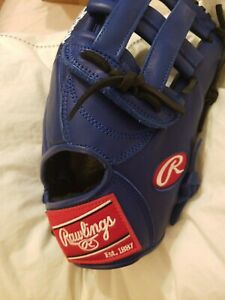 Rawlings 12.75 GG Elite Glove Blue New Leather Right Hand