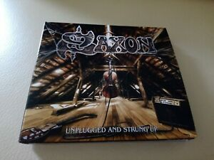 Doppel CD * Saxon * Unplugged and strung up