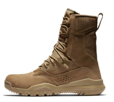 """Nike SFB 2 8"""" Leather Tactical Combat Boots Mens Size 10.5 Coyote AQ1202-900"""